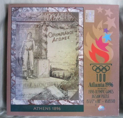 1996 Olympic Games Atlanta Athens 1896 Jigsaw Puzzle - 550 Piece by SunsOut by - To Athens Atlanta