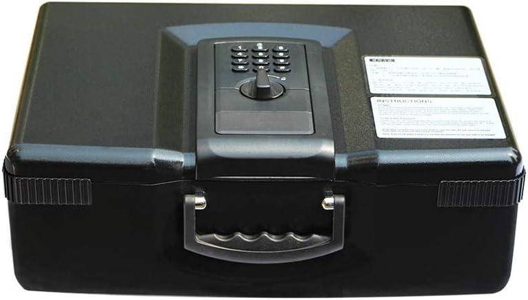 ZLQ caja de seguridad portátil pequeña caja de seguridad tipo cajón caja fuerte caja fuerte caja de seguridad: Amazon.es: Hogar