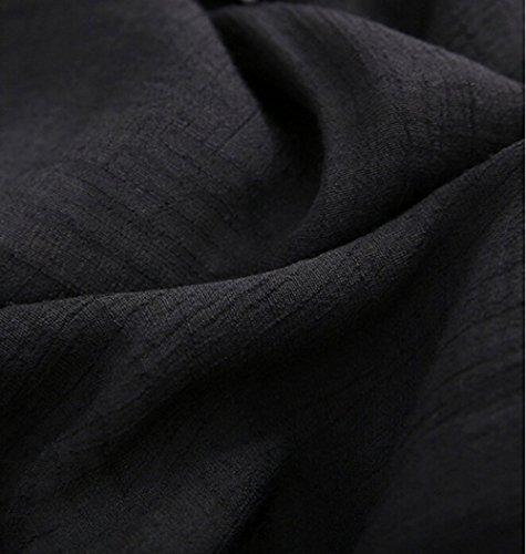 Transparente Blouses Plage de Plage Voile sur convenir Plage Robe Plage de Blanche Femme Porter Noir et Blouse Blouse Chemisiers la P85qUn