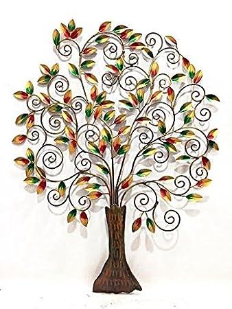 63105c8b2d Buy Shivay Arts Contemporary Metal Tree Wall Decor/ Wall Hanging ...