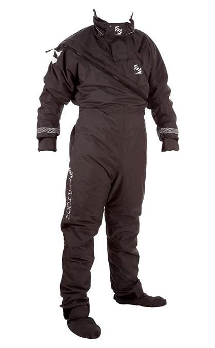 Typhoon MAX B Drysuit with Convenience Zip Black 100139 Inc ...