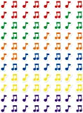 press on decals - Creative Teaching Press Music Notes Hot Spots Stickers (7162)