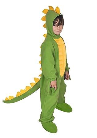 Dinosaurier Grun Dino Drache Kinder Kostum 110 116 Fur Fasching