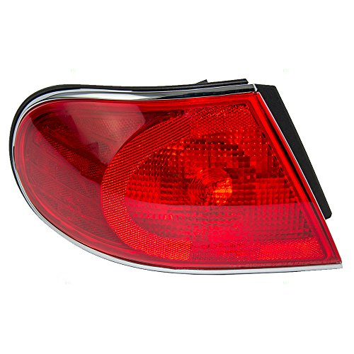 Drivers Taillight Tail Lamp Quarter Panel Mounted Lens Replacement for Buick (Buick Tail Light Lens)