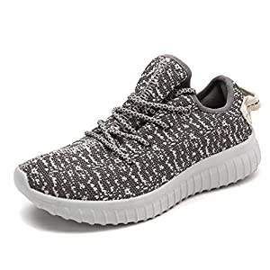Dream Pairs Women's Pilot-W Grey Athletic Running Shoes Sneakers - 9.5 M US