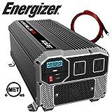 Energizer 4000 Watt 12V Power Inverter, Dual 110V AC Outlets, Automotive Back up