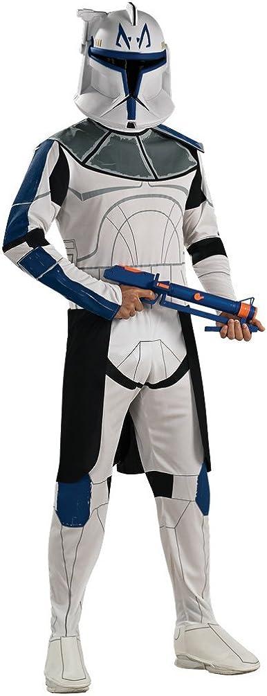 Amazon.com: Clone Trooper Capitán Rex adulto disfraz ...