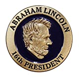 Abraham Lincoln 16th President Lapel Pin / Hat Tac