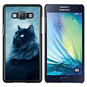 Stuss Case / Funda Carcasa protectora - Majestic Forrest Gato Negro - Samsung Galaxy A5 A5000