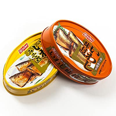 Nissui Iwashi Canned Sardines - 3.52 Oz - Ajitsuke Sardines in Sweet Soy Sauce (3.52 ounce) from Nissui