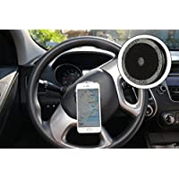 GO-VUU Universal Cell Phone Holder - Your Phone Stays Vertical Even When Steering Wheel Turns - Stay Safe and Be Hands Free - GPS, Video Chat & More for Cars, Trucks, SUVs - Pat. Pend.