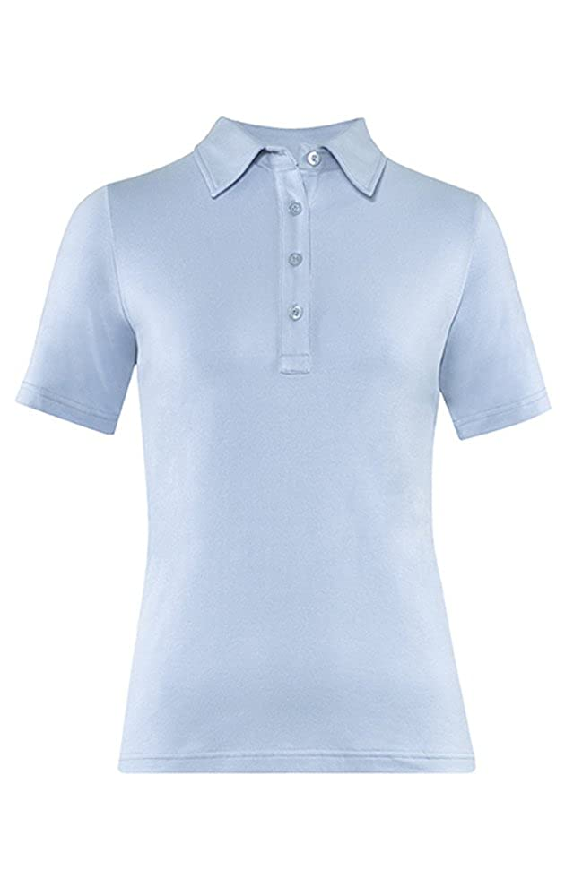 GREIFF Damen-Poloshirt Basic, Regular Fit, Stretch, 6681, mehrere Farben B00ZZOQE6A Blausen & Tuniken Wertvolle Boutique