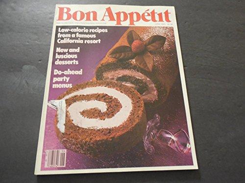 Bon Appetit Jun 1985 Low-Calorie Recipes, Do-Ahead Party Menus