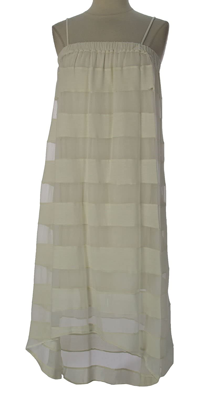 Haute Hippie Women's Striped Asymmetrical Dress Medium Swan