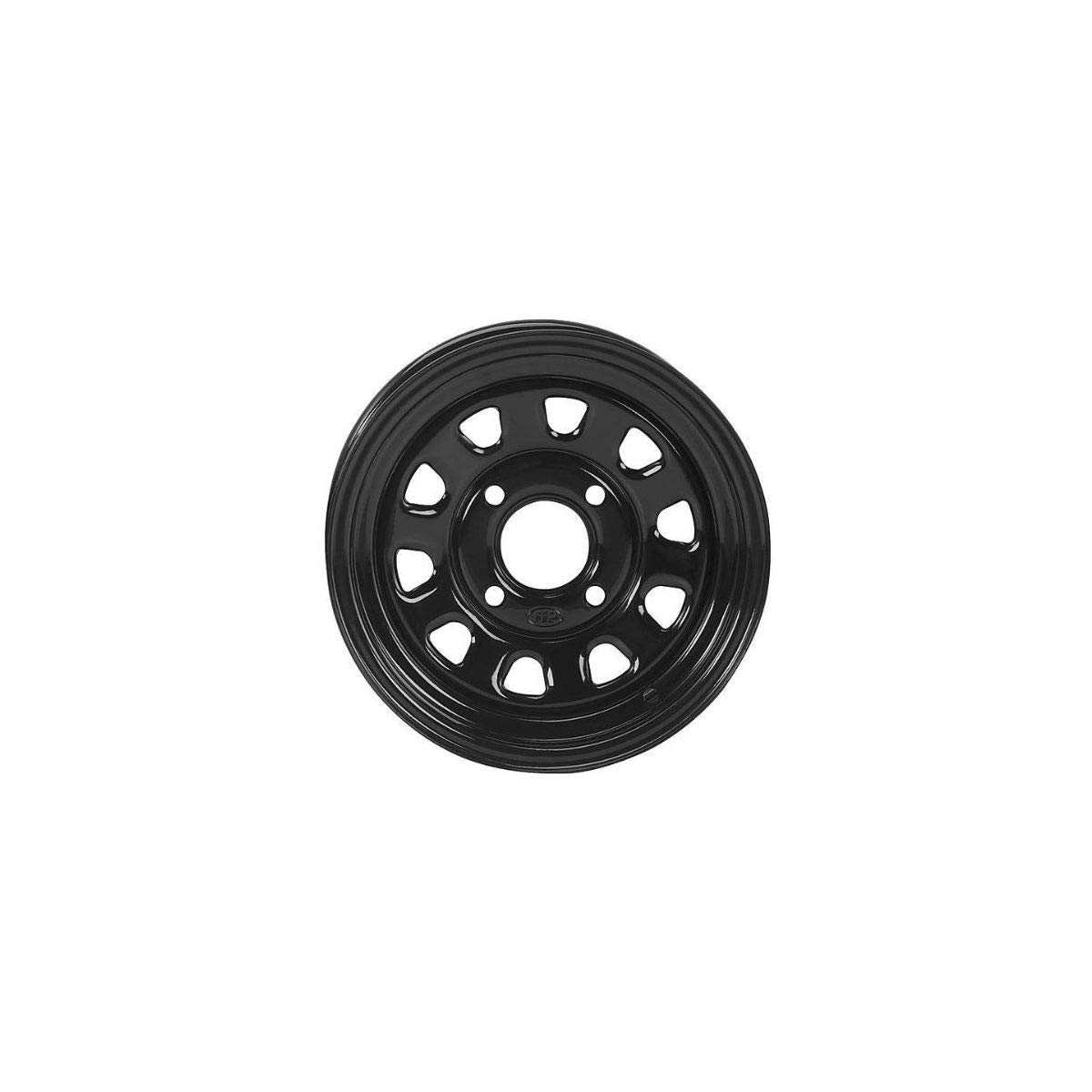 ITP Delta Steel Black Wheel with Machined Finish (12x7'/4x137mm) 1225573014