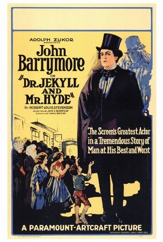 Dr. Jekyll and Mr. Hyde POSTER Movie (27 x 40 Inches - 69cm x 102cm) (1920) (Style B)