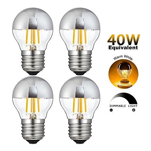 Half Chrome Light Bulb Led in Florida - 9