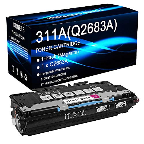 1-Pack (Magenta, 6,000 Page Yield) Compatible Q2683A 311A -