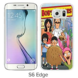 Fashionable And Unique Designed Case For Samsung Galaxy S6 Edge Phone Case With Bob's Burgers 8 White