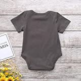 Baby Girls Boys Outfits Letter Printed Romper