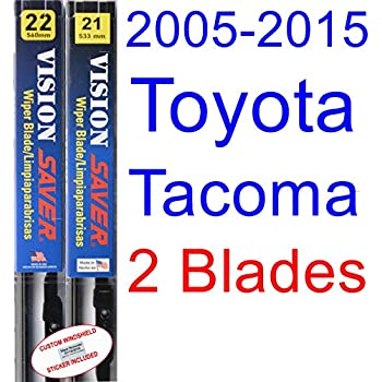 Amazon.com: 1995-2004 Toyota Tacoma Replacement Wiper Blade Set/Kit ...