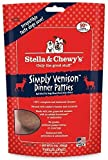 Stella & Chewy's Freeze Dried Simply Venison Dinner for Dog, 15-Ounce (2 pack)
