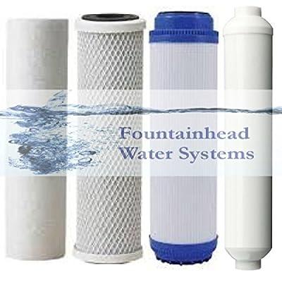 Fountainhead 1 Set Filters. 5 Micron Sediment/gac/carbon 1 Inline Carbon