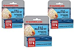(3 Pack) Marineland 6-in-1 Multi-Test Kits - 10 Strips Each