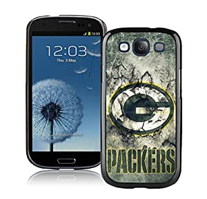 Samsung Galaxy S3 Green Bay Packers 30 Black Screen Cellphone Case Lovely and Fashion Design