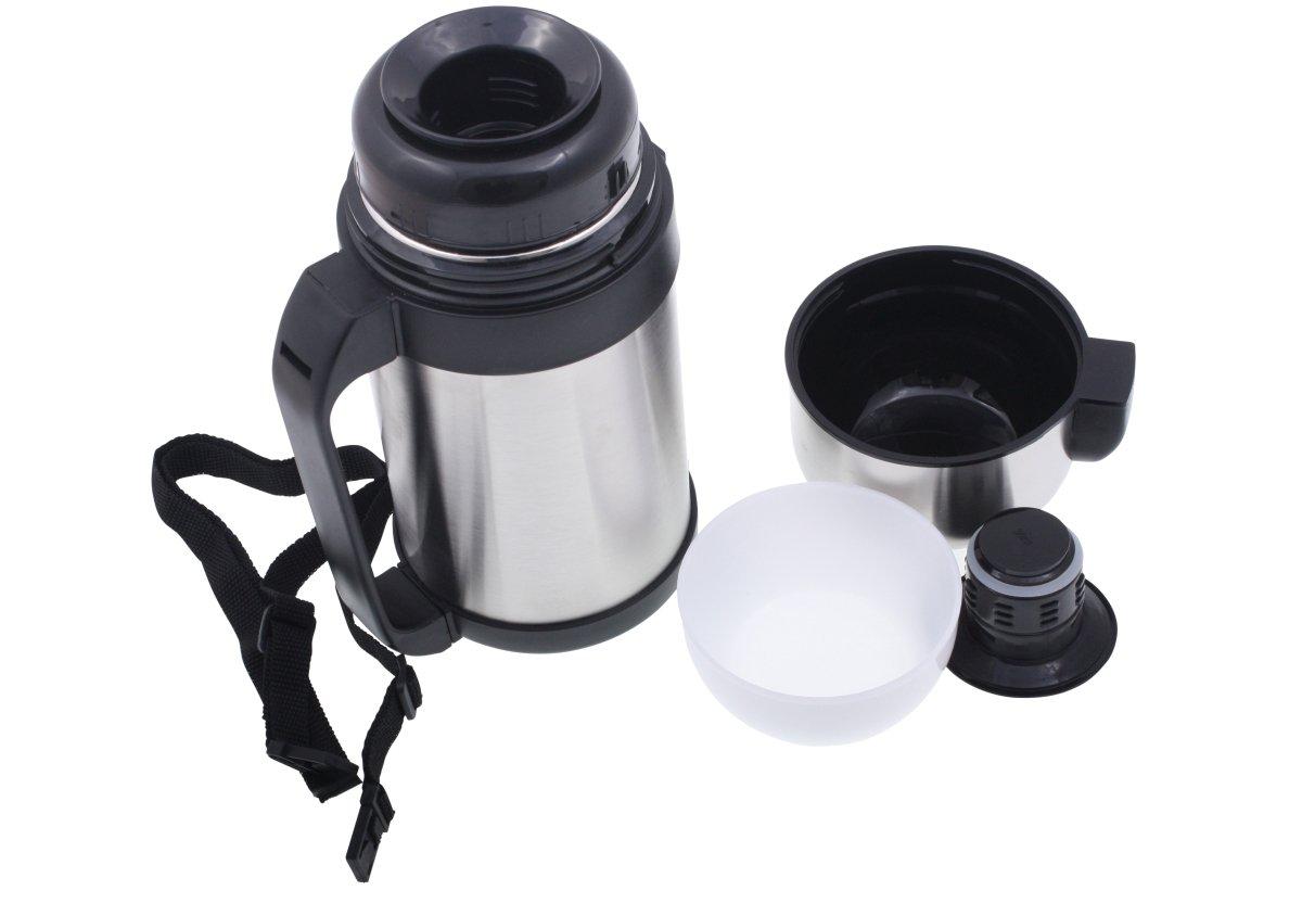 Thermobehälter Speisen und Getränke 1 l: Amazon.de: Küche & Haushalt