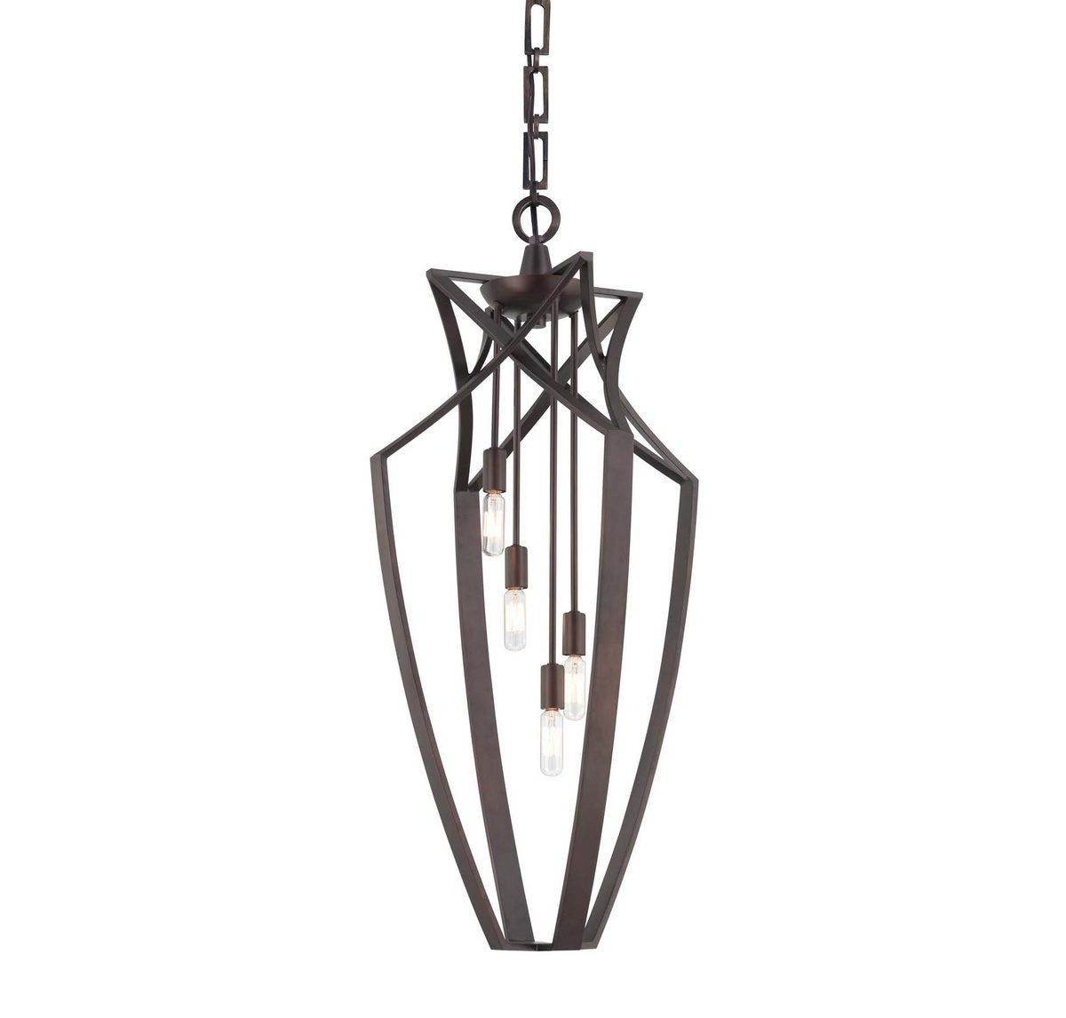 Savoy House 3-6821-4-13,Windsung 4-Light Pendant, English Bronze