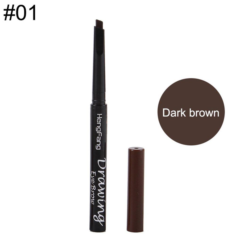 21844e5ce7b Amazon.com: angel3292 Hot sale Long Lasting Automatic Rotation Eye Brow Pen Eyebrow  Pencil Makeup Cosmetic Tool: Beauty