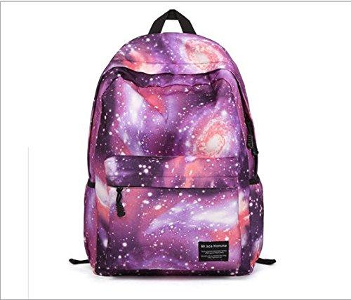 philna12Laptop Daypack Rucksack Tablet Taschen (Galaxy Lila)
