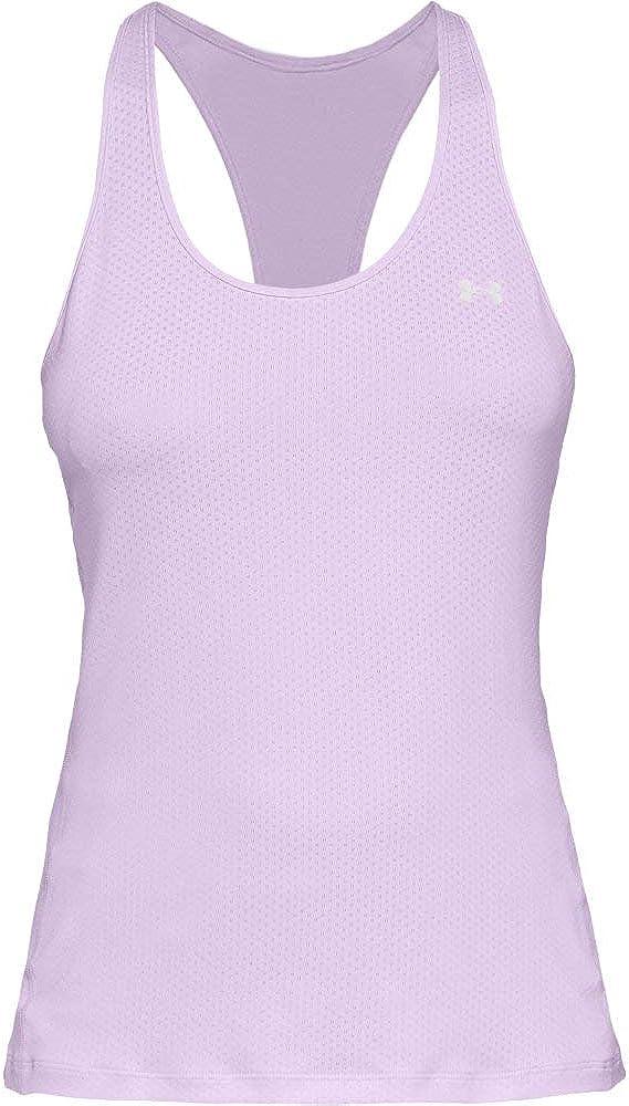 Under Armour Damen UA Heatgear Racer bequemes Sportshirt mit enganliegender Passform atmungsaktives Sportoberteil f/ür Frauen