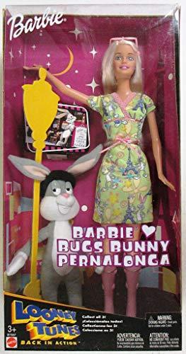Barbie Looney Tunes Loves Bugs Bunny Doll (Porcelain Bunny Doll)