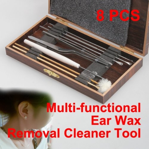 Vktech New Pack of 8 Ear Pick Ear Wax Removal Cleaner Multifunction Beauty Tool Kit