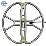 """CORS Fire 15"""" DD Search Coil for Whites Prizm and Coinmaster Metal Detector with Cover"""