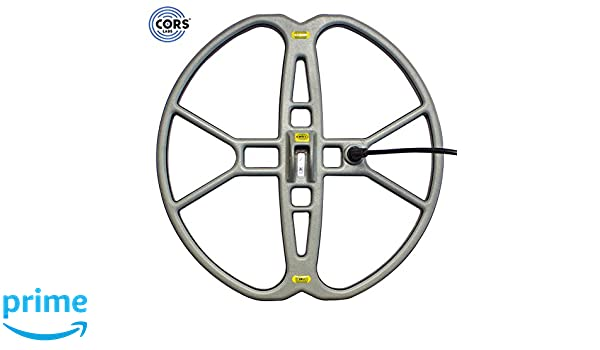 """Amazon.com: CORS Fire 15"""" DD Search Coil for Whites Prizm and Coinmaster Metal Detector with Cover: Garden & Outdoor"""