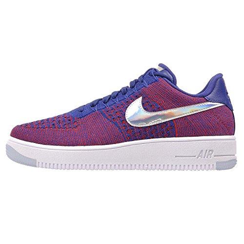 nike-mens-af1-ultra-flyknit-low-prm-gym-red-deep-royal-blue-white-basketball-shoe-9-men-us