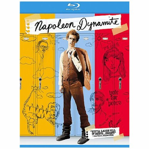 Blu-ray : Napoleon Dynamite (Dubbed, Subtitled, Dolby, AC-3, Digital Theater System)