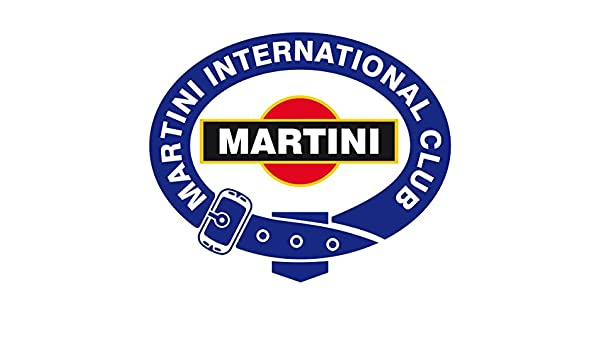 ResinFly - Adhesivo para coches y motos Martini International Club, 10 x 8 cm: Amazon.es: Hogar