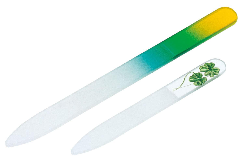 コモライフ ガラス製爪ヤスリ 大小セット
