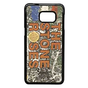 Design Cases Samsung Galaxy S6 Edge Plus Cell Phone Case Black THE STONE ROSES Glifmk Printed Cover