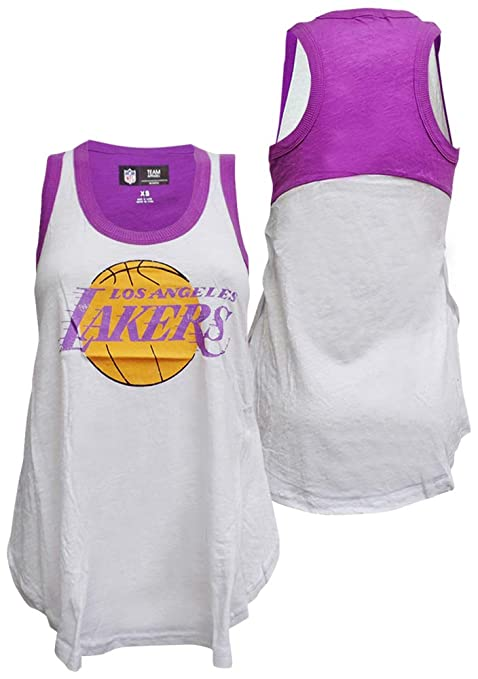Amazon.com   G-III Sports Los Angeles Lakers Womens Power Alley Tank ... 228c64cc55