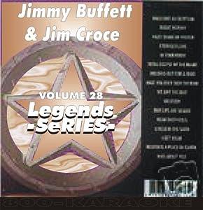 Jimmy Buffett & Jim Croce Karaoke CD+G Legends #28 15 Song Disc