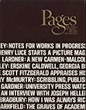 Pages : The World of Books, Writers and Writing, Matthew J. (ed) BRUCCOLI, 0810309254
