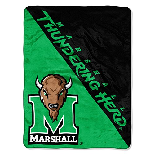 The Northwest Company NCAA Marshall Thundering Herd Halftone Micro Raschel Throw, 46