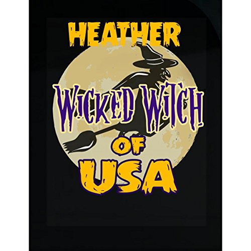 Prints Express Halloween Costume Heather Wicked Witch of USA Great Personalized Gift - Sticker]()