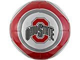 Ohio State Buckeyes NCAA Baden Official Size High Gloss Soccer Ball