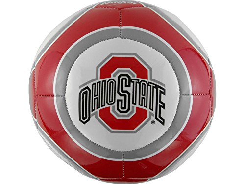 Ohio State Buckeyes NCAA Baden Official Size High Gloss Soccer Ball by Baden